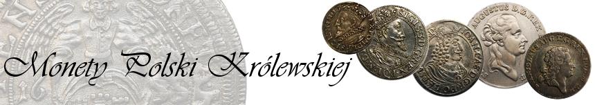 Monety Polski Królewskiej 1506-1795. Orty, trojaki, grosze...